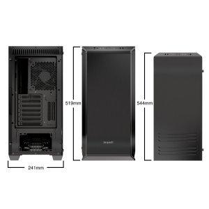 Компютърна кутия Be Quiet! Dark Base 700 RGB LED Front Panel (снимка 9)