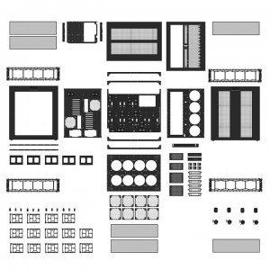 Компютърна кутия Thermaltake Core W200, Black (снимка 12)