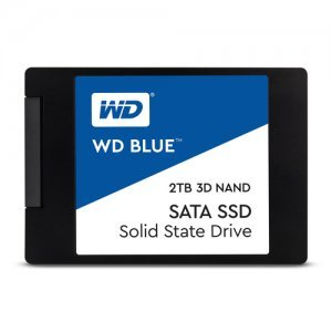 "SSD Western Digital 2TB, Blue WDS200T2B0A, SATA3, 2.5"" 7mm (снимка 1)"