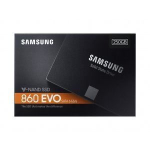 "SSD Samsung 250GB, 860 EVO Series, SATA3, 2.5"" 7mm, MZ-76E250B (снимка 4)"