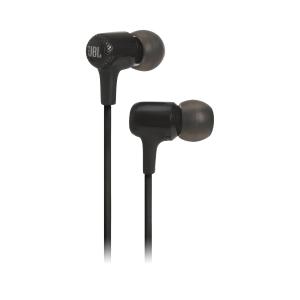 Слушалки JBL E15 Black, In-ear headphones with microphone, 20Hz - 20kHz, 16 Ohm, 8.6mm drivers, 3.5mm jack (снимка 1)