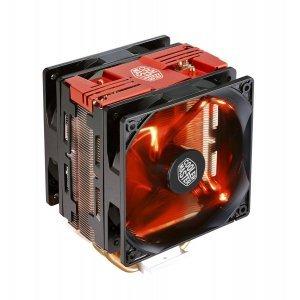 Въздушно охлаждане на процесор Cooler Master Hyper 212 LED Turbo, Red Top Cover (снимка 1)