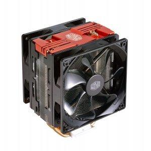 Въздушно охлаждане на процесор Cooler Master Hyper 212 LED Turbo, Red Top Cover (снимка 2)