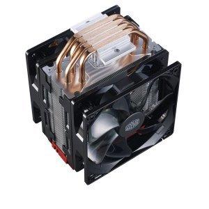 Въздушно охлаждане на процесор Cooler Master Hyper 212 LED Turbo, Red Top Cover (снимка 3)