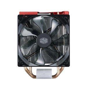 Въздушно охлаждане на процесор Cooler Master Hyper 212 LED Turbo, Red Top Cover (снимка 4)