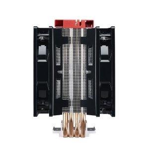Въздушно охлаждане на процесор Cooler Master Hyper 212 LED Turbo, Red Top Cover (снимка 5)