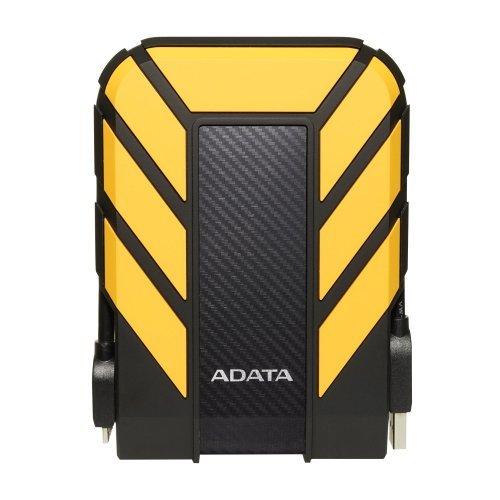 """Външен твърд диск Adata HD710P, 2TB, 2.5"""" external, USB3.1, Yellow (снимка 1)"""