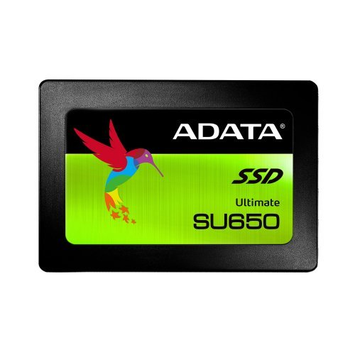"SSD Adata 480GB, Ultimate SU650, SATA3, 2.5"" 7mm (снимка 1)"