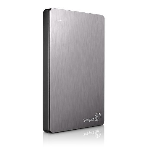 "Външен твърд диск Seagate Backup Plus Portable 1TB, 2.5"", USB3.0, Silver, STDR1000201 (снимка 1)"