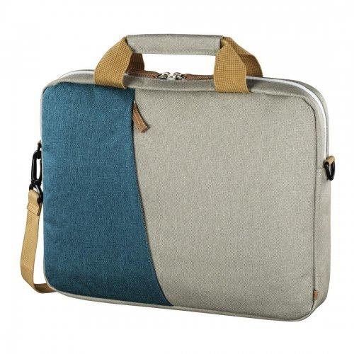 "Чанта за лаптоп Hama 101573 Florence, 15.6"" Bag, Blue/Grey (снимка 1)"