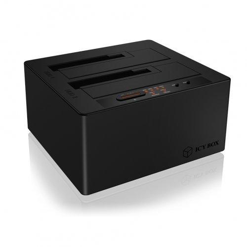 """Кутия за диск Raidsonic IB-121CL-C31, 2.5""""/3.5"""" SATA to USB Type-C (снимка 1)"""