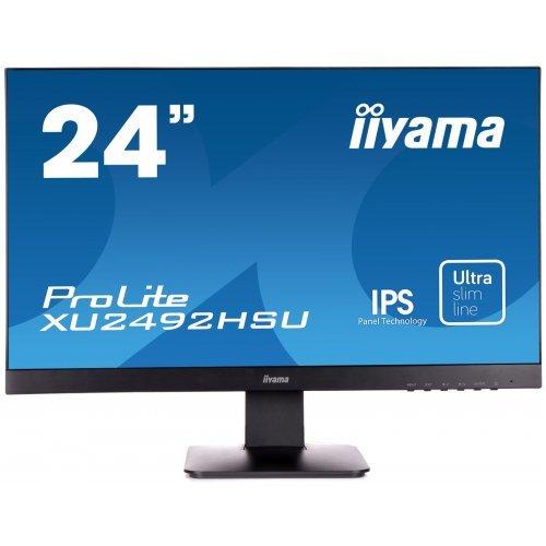 "Монитор Iiyama 23.8"" XU2492HSU-B1 (снимка 1)"