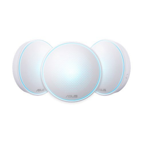 Безжичен рутер Asus Lyra Mini, MAP-AC1300 3-Pack Whole-Home Wi-Fi System (снимка 1)