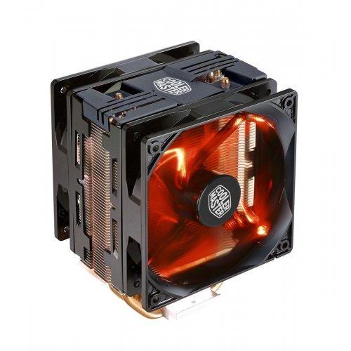 Въздушно охлаждане на процесор Cooler Master Hyper 212 LED Turbo, Black Top Cover (снимка 1)