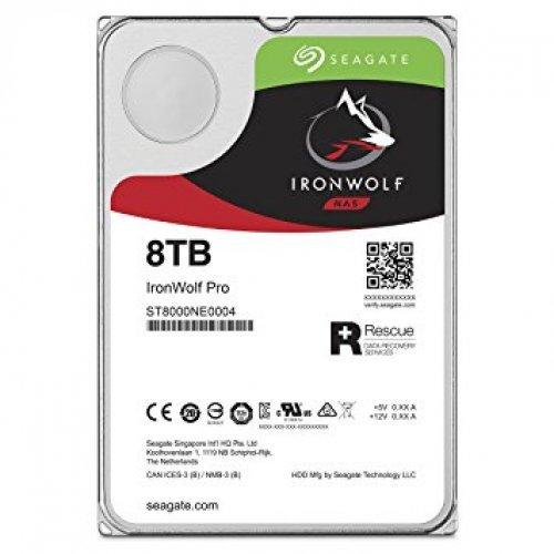 Твърд диск Seagate 8TB IronWolf Pro ST8000NE0004 SATA3 256MB 7200rpm (снимка 1)