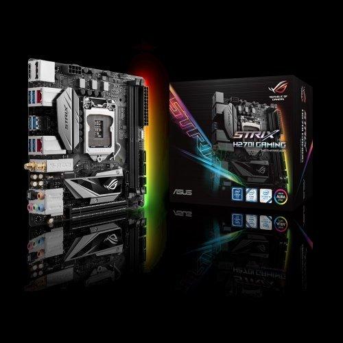 Дънна платка Asus Strix H270I Gaming, LGA1151 (снимка 1)