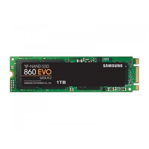 SSD Samsung 1ТB, 860 EVO Series, M.2 2280, MZ-N6E1T0BW (снимка 1)