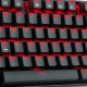 Комплект клавиатура с мишка Redragon K552-BA, 3 in 1 Combo, K552 Kumara mechanical keyboard, M601 Centrophorus Gaming Mouse, P001 Archelon Mouse pad (умалена снимка 5)
