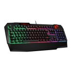 MSI Vigor GK40 US Gaming Keyboard, 6-region RGB illumination, supports MSI Mystic light, USB (Клавиатури)