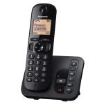 Panasonic KX-TGC220FXB, Black (Безжични телефони)