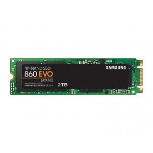 SSD Samsung 2ТB, 860 EVO Series, M.2 2280, MZ-N6E2T0BW (снимка 1)