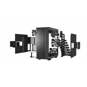 Компютърна кутия Be Quiet! Dark Base 900, BG011, Black (снимка 8)