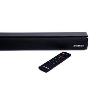Тонколони за компютър AverMedia GS331, Gaming Soundbar, 2.0, 40W, Bluetooth (снимка 3)