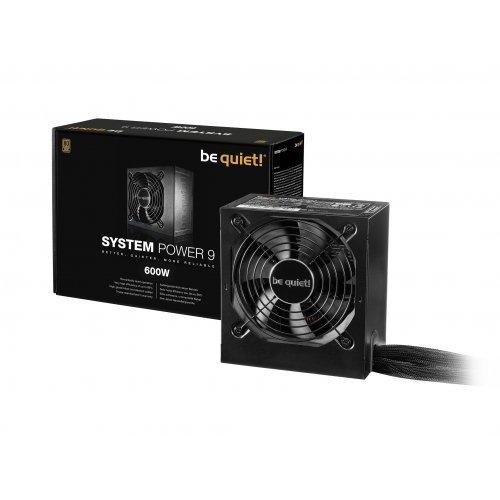 Захранващ блок Be Quiet! System Power 9 600W BN247, 80 Plus Bronze (снимка 1)