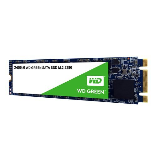 SSD Western Digital 240GB, Green WDS240G2G0B, M.2 2280 (снимка 1)