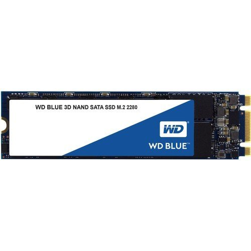 SSD Western Digital 500GB, Blue WDS500G2B0B, M.2 2280 (снимка 1)