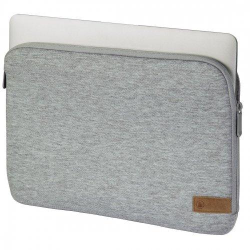 """Чанта за лаптоп Hama Jersey 101807, 15.6"""" Cover, Gray (снимка 1)"""