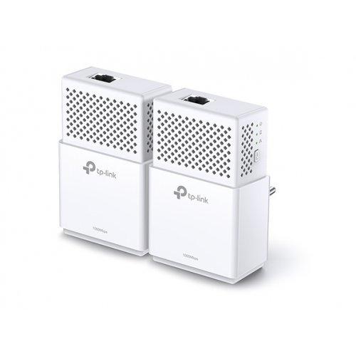 Powerline адаптер TP-Link TL-PA7010 KIT, AV1000 Gigabit Powerline Starter Kit (снимка 1)