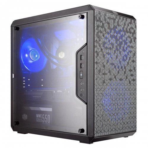 Компютърна кутия Cooler Master MasterBox Q300L Magnetic Dustfilter, Mini-Tower, Black (снимка 1)