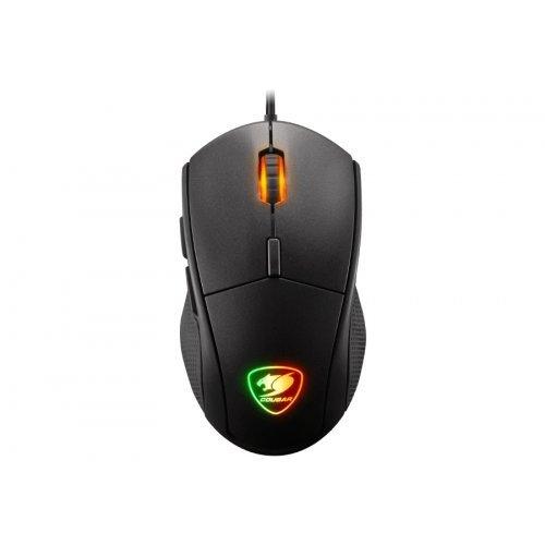 Мишка Cougar Minos X5 Gaming Mouse, 100-12000 dpi, PixArt PMW3360 Optical gaming sensor, 2000Hz Polling rate, Golden-plated USB plug, 1.8m (снимка 1)
