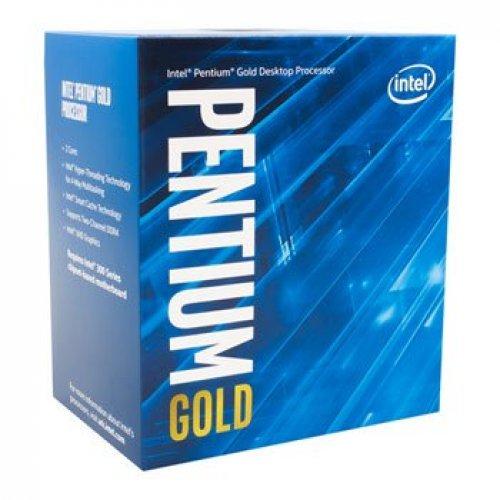 Процесор Intel Coffee Lake Pentium Gold G5600, 3.9GHz, LGA1151, 4MB Cache, 54W, 14nm, VGA Intel UHD Graphics 630, Box (снимка 1)