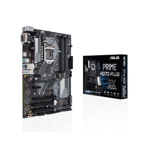 Дънна платка Asus Prime H370-Plus, LGA1151 (снимка 1)