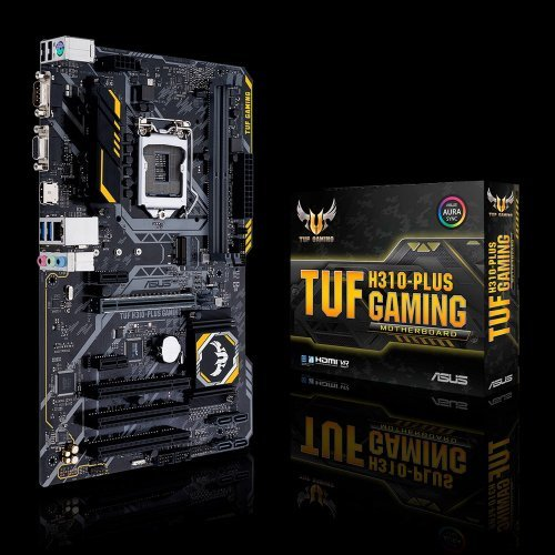 Дънна платка Asus TUF H310-Plus Gaming, LGA1151 (300 Series) (снимка 1)
