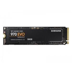 Samsung 500GB, 970 EVO, PCI Express 3 x4, NVMe 1.3, M.2 2280, MZ-V7E500BW (SSD (Solid State Drive))