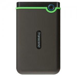 """Transcend StoreJet 25M3 Slim, 1TB, 2.5"""", USB3.1, TS1TSJ25M3S (Външни твърди дискове)"""