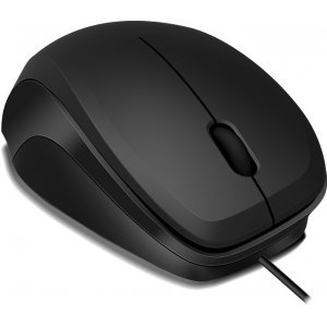 Мишка Speedlink Ledgy, Optical Mouse, wired, 3-button mouse, Ergonomic shape for right-handed use, 900dpi optical sensor, USB Cable: 1.3m, Black-Black (снимка 2)