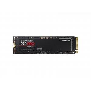 SSD Samsung 512GB, 970 PRO, PCI Express 3 x4, NVMe 1.3, M.2 2280, MZ-V7P512BW (снимка 1)