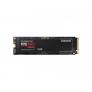 Samsung 512GB, 970 PRO, PCI Express 3 x4, NVMe 1.3, M.2 2280, MZ-V7P512BW (SSD (Solid State Drive))