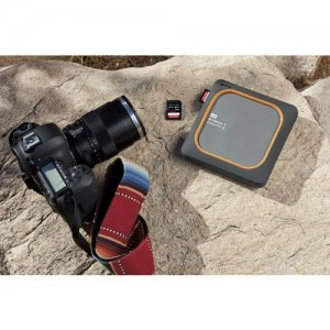 "Външен твърд диск Western Digital My Passport Wireless SSD 2TB, 2.5"", USB3.0, SD Slot, 802.11ac/n Wi-Fi, Gray (снимка 3)"