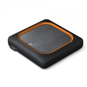 "Външен твърд диск Western Digital My Passport Wireless SSD 2TB, 2.5"", USB3.0, SD Slot, 802.11ac/n Wi-Fi, Gray (снимка 4)"