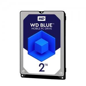 """Твърд диск Western Digital 2TB Blue WD20SPZX, SATA3, 128MB, 5400rpm, 2.5"""" 7mm (снимка 1)"""