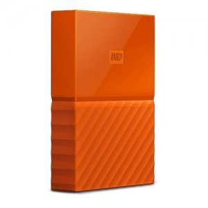 "Външен твърд диск Western Digital My Passport Thin 2TB, 2.5"", USB3.0, Orange (снимка 2)"