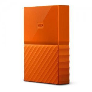 "Външен твърд диск Western Digital My Passport Thin 2TB, 2.5"", USB3.0, Orange (снимка 3)"