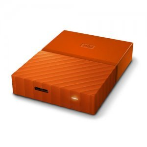 "Външен твърд диск Western Digital My Passport Thin 2TB, 2.5"", USB3.0, Orange (снимка 4)"