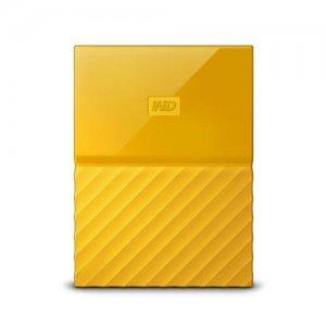 """Външен твърд диск Western Digital My Passport Thin 2TB, 2.5"""", USB3.0, Yellow (снимка 1)"""