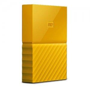 """Външен твърд диск Western Digital My Passport Thin 2TB, 2.5"""", USB3.0, Yellow (снимка 2)"""